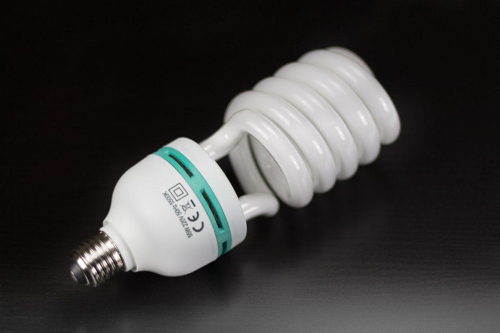 Descarte de lâmpadas fluorescentes