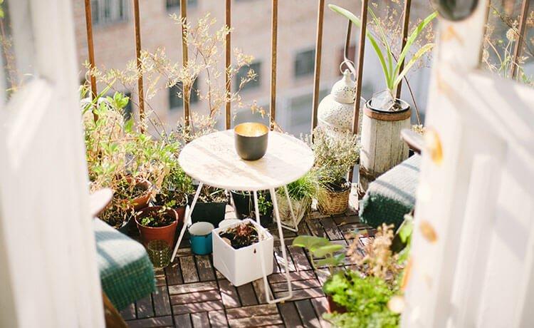 Jardim em apartamento