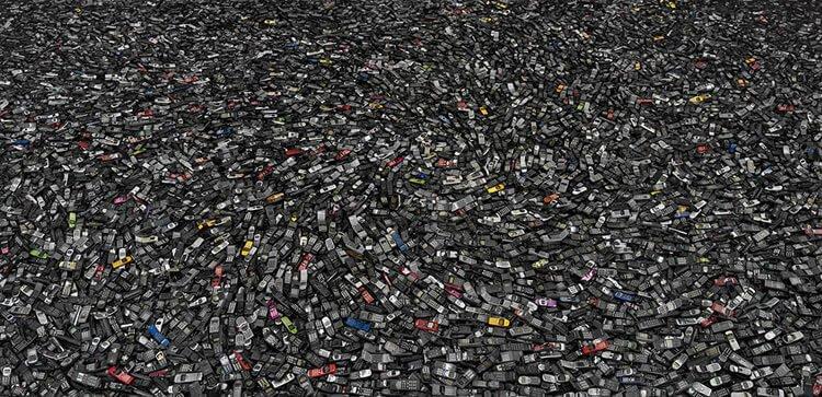 Chris Jordan - Cell phones #2