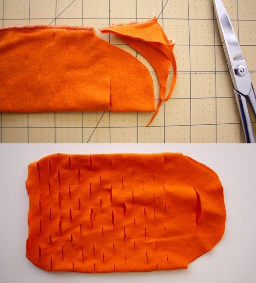 As alças, inclusive, são feitas com mais um corte