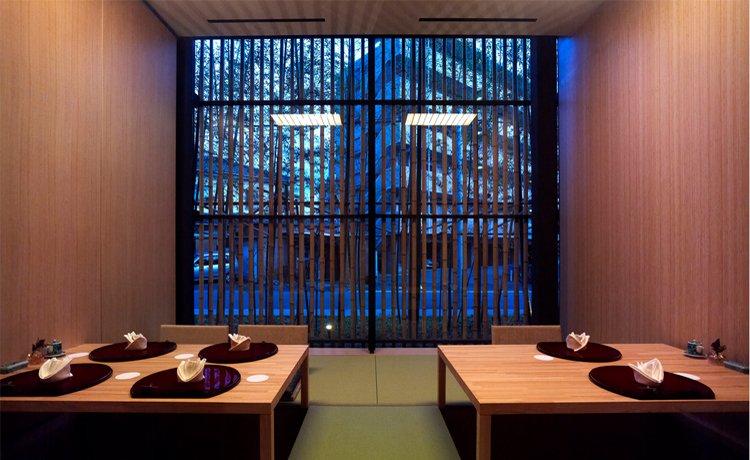hotel feito de bambu