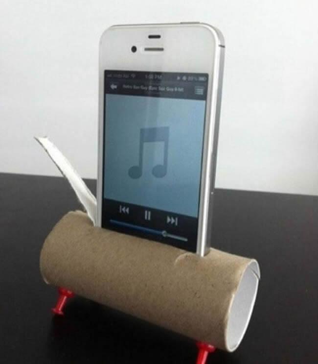 Amplificador de som para smartphones