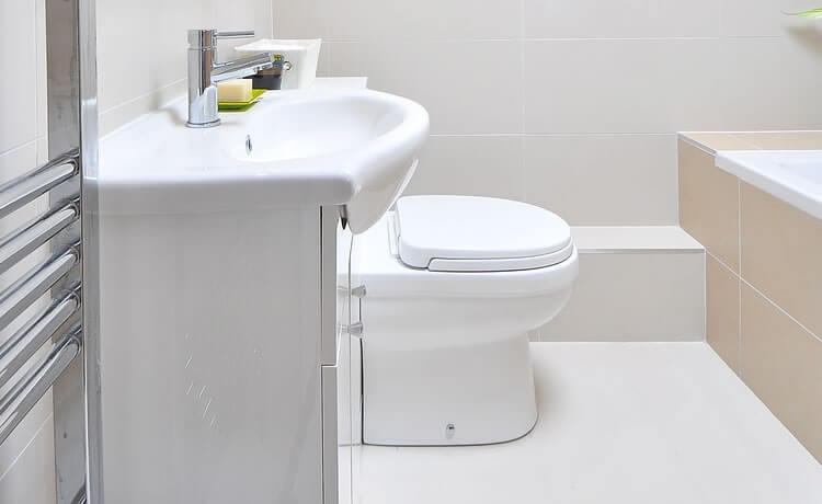 Pia e vaso sanitário
