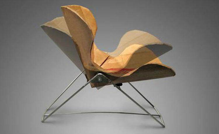 cadeira ecológica reclinável