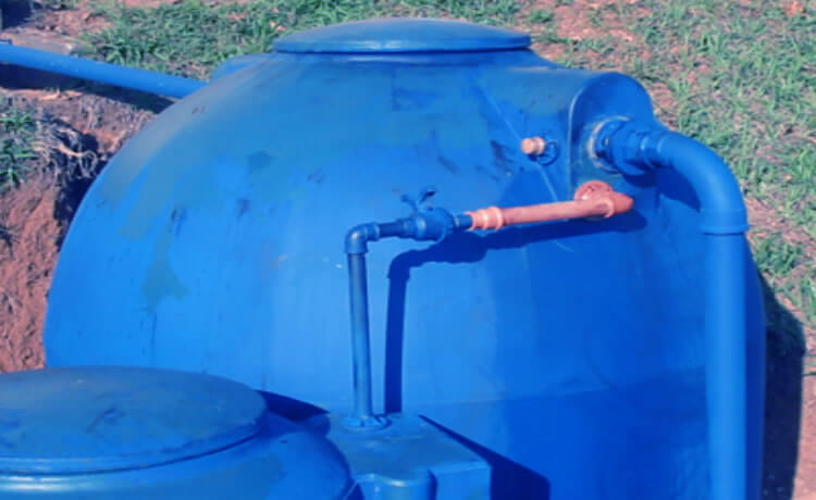 Separador de água de chuva