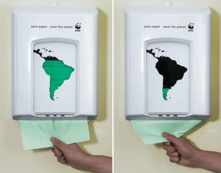 Economize papel, salve o planeta