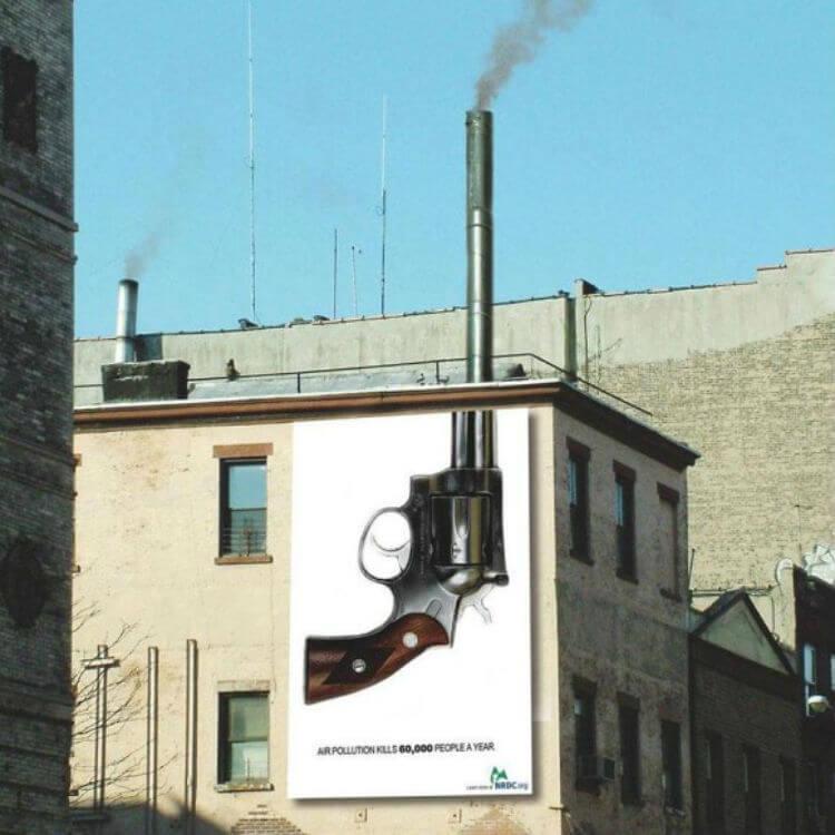 A poluição do ar mata 60 mil pessoas por ano