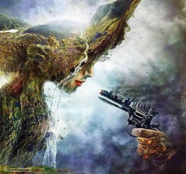 Matando o meio ambiente