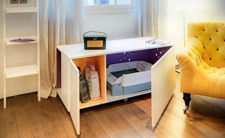 Transforme o armário em um espaço exclusivo para seu gato