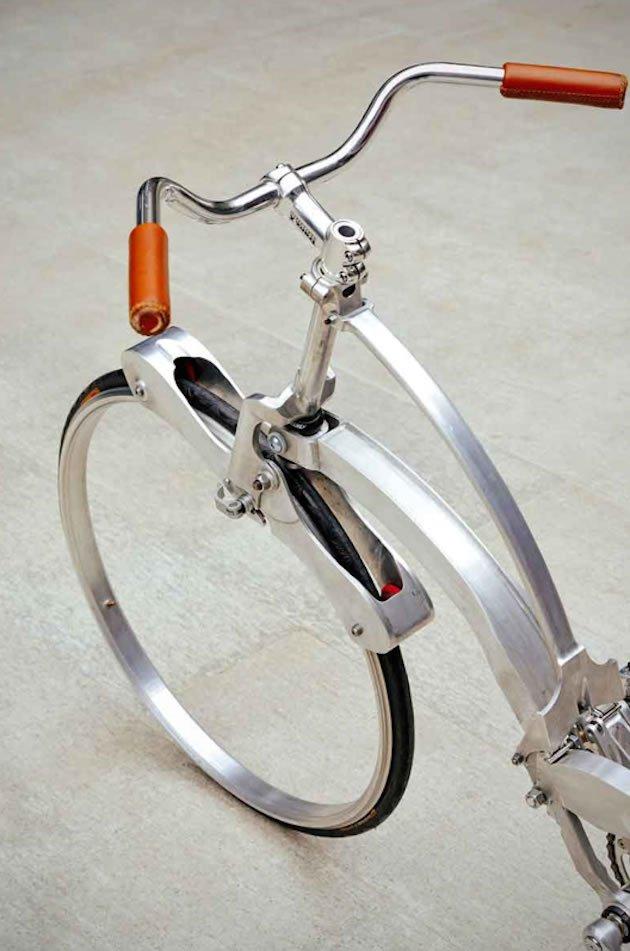 Bicicleta dobrável