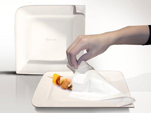 O prato pode ser usado até dez vezes