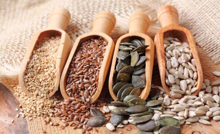 Diversas sementes