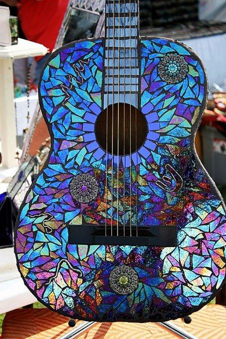 violão hippie