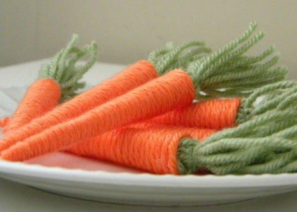 Cenoura de lã