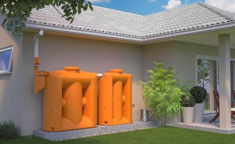 Cisternas verticais modulares
