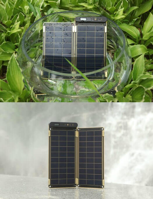 Solar Paper na água