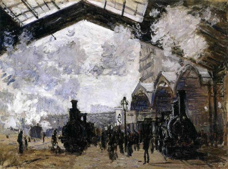 Monet, The Gare Saint-Lazare