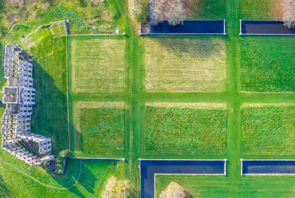 A beleza oca do Château de la Ferte-Vidame, na França