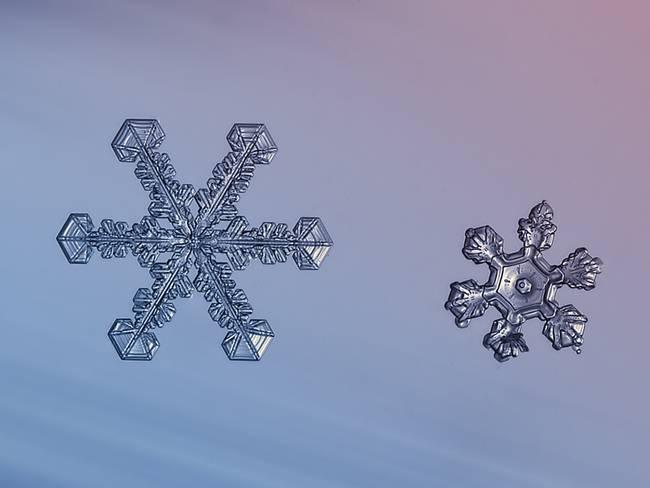 Flocos de neve