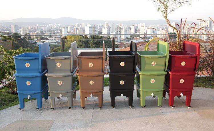 tipos de composteira