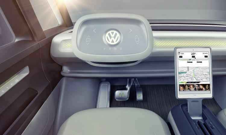 Volante da Volkswagen Kombi I.D. Buzz