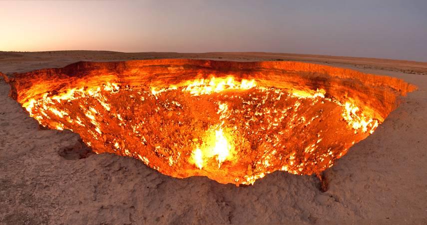 """Porta para o inferno"""" Derweze, Turkmenistan"""
