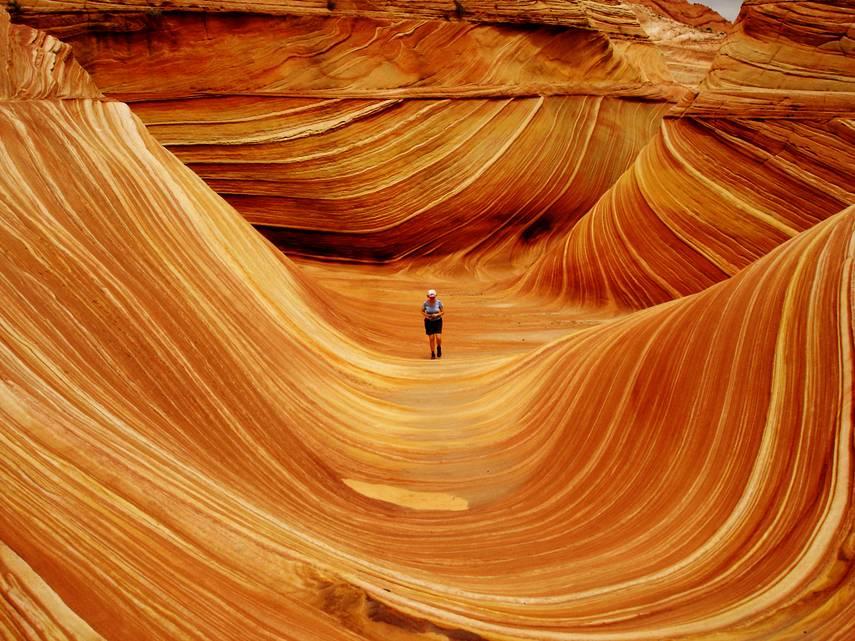 """A onda"""", Arizona, Estados Unidos"""