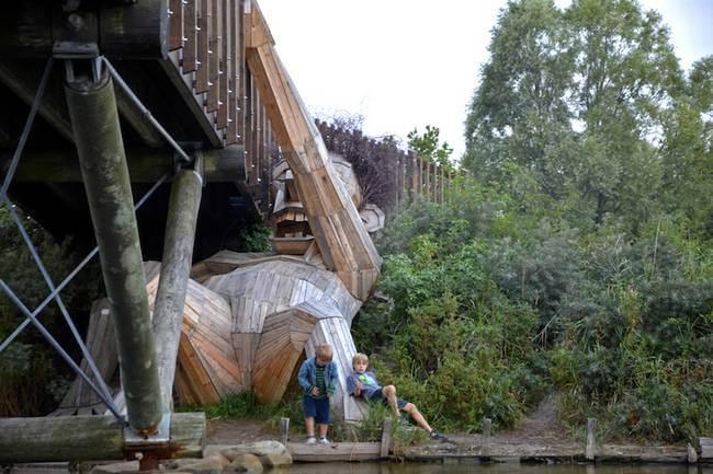 Gigante de madeira