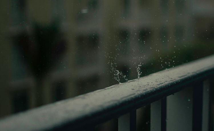 água de chuva