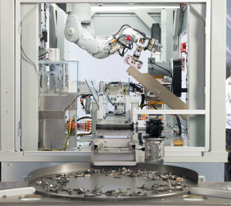 Robô de reciclagem Daisy