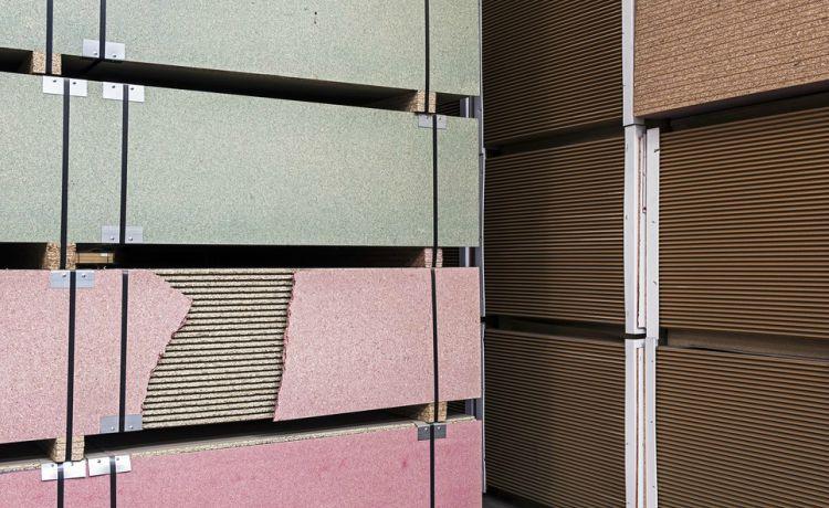 Placas de madeira aglomerada. Paul Bulteel