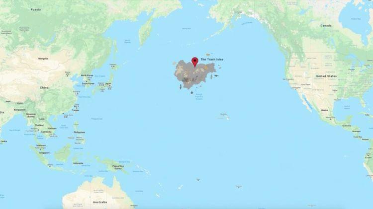 Mapa de The Trash Isles