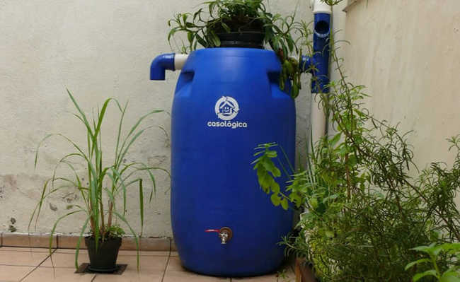 Projeto de cisterna