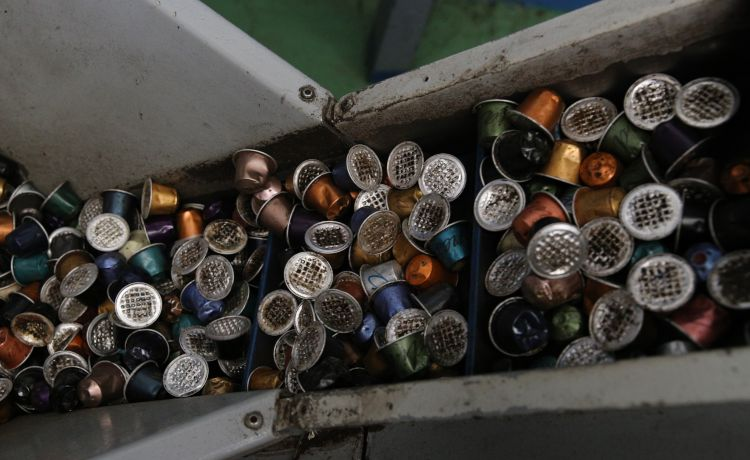 Reciclagem de cápsulas Nespresso