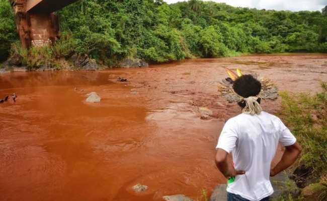 Indígenas Pataxó Hã-hã-hãe vivem na aldeia Naõ Xohã, às margens do rio Paraopeba, que foi afetado pelo colapso da barragem em Brumadinho