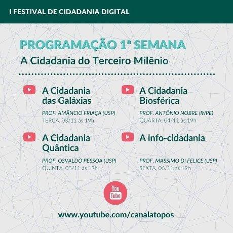 I Festival Internacional de Cidadania Digital