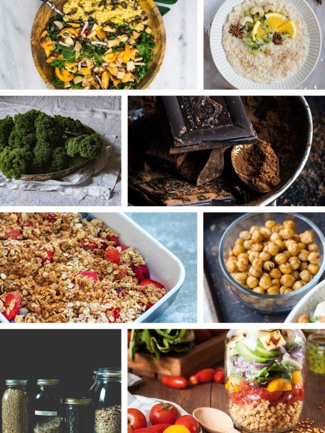11 alimentos ricos em ferro